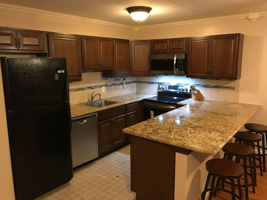 Newly-remodeled Kitchen