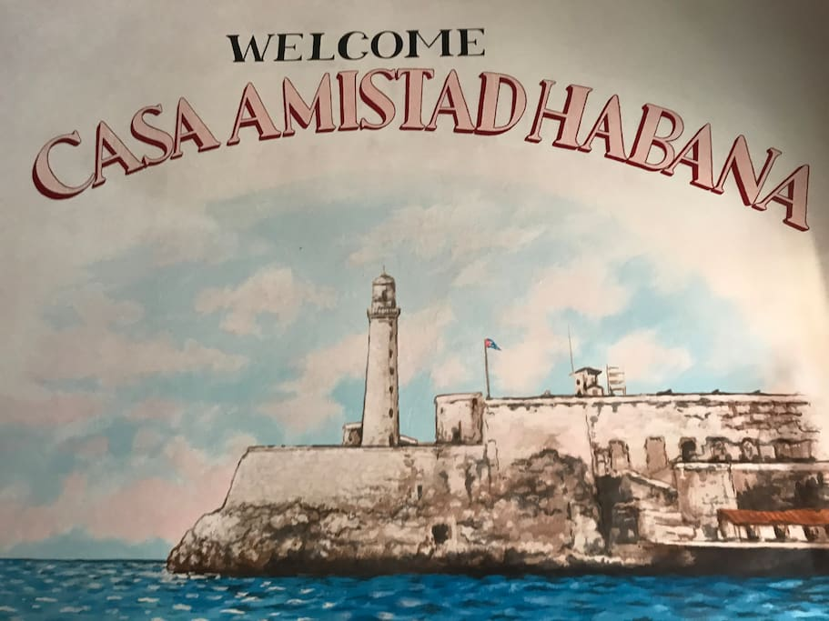 Welcome to Casa Amistad Habana - Your journey in Cuba awaits!