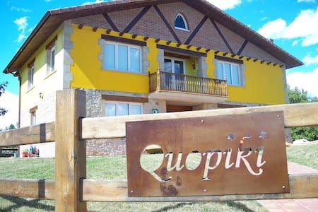 Quopiki. Tu Casa Rural en Euskadi. Hab. Cuadruple - Gopegi