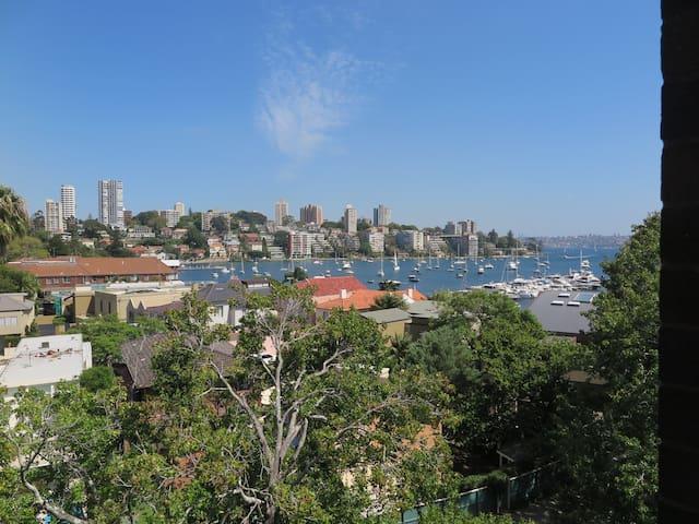 Vivid, city break, business trip - harbour views - Double Bay - Apartment