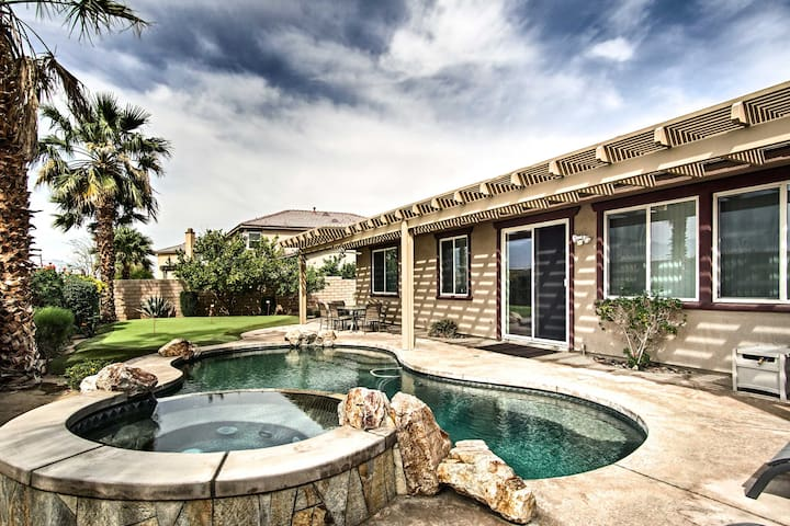 Indio Home w/Private Pool & Putting Green By Golf