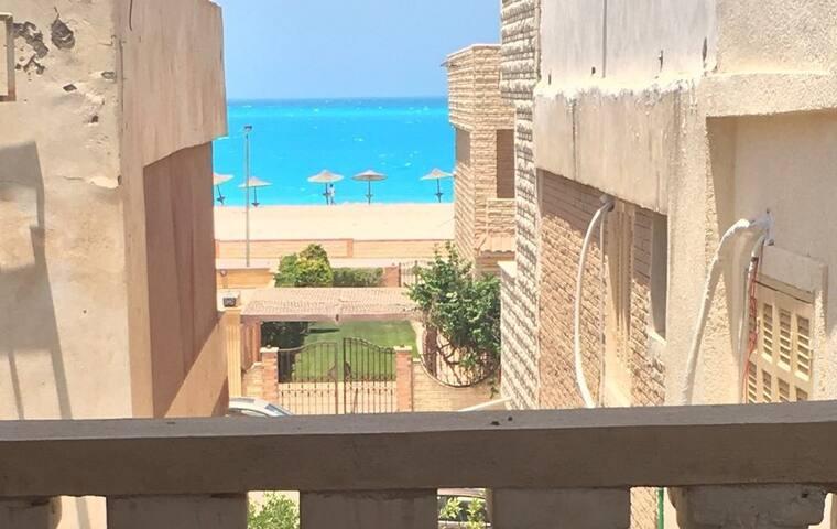1st Floor Villa with Terrace, 3rd Row from Beach