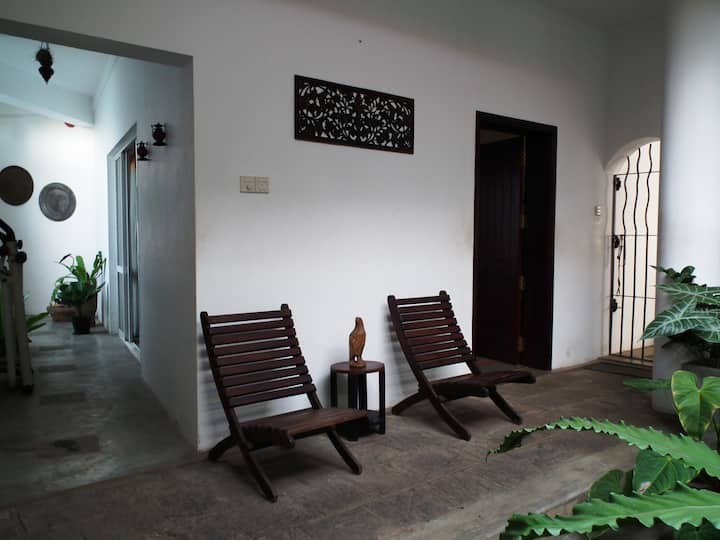 Private room in family house