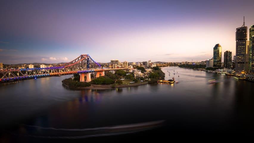 Astra RiverPlace(T5Z ) - Brisbane City - Apartemen berlayanan