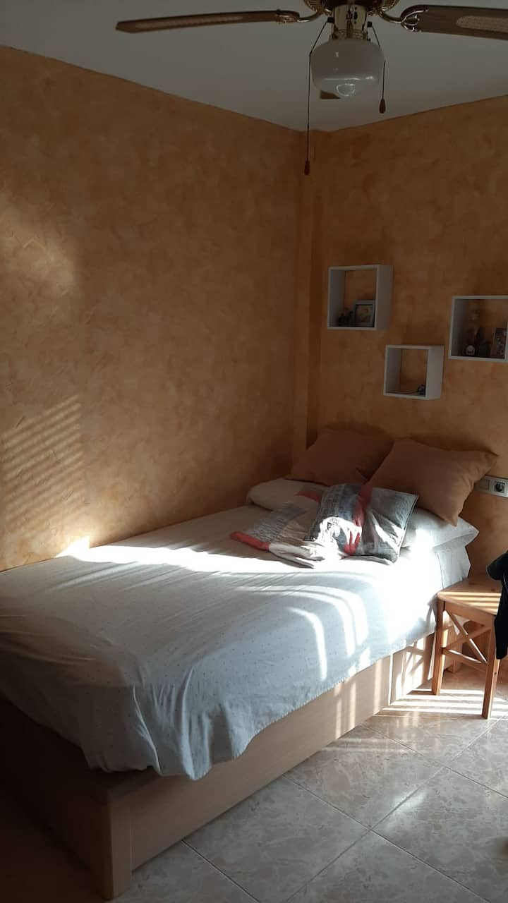 Cozy room in Zaragoza center