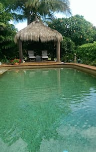 Tropical Paradise, bay views & pool - Cleveland - Bed & Breakfast