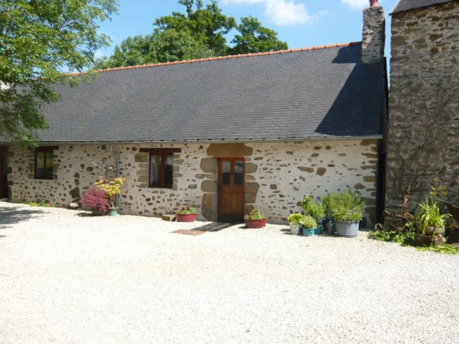 Holiday cottage (front entrance)