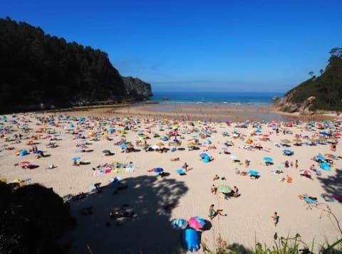 It is RENTED ATTIC in Unquera Ria Deva and sea views.