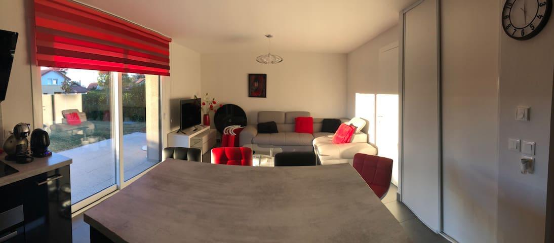 50 m2 avec terrasse proche du lac