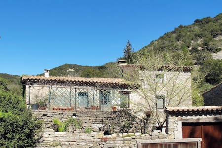 Holiday home in Rochecolombe for 4 persons - Rochecolombe - Haus