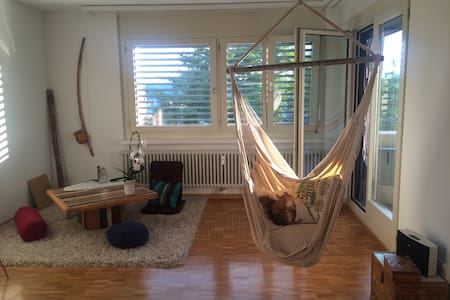 Relax in green surroundings near ETH university - Zürich - Appartement