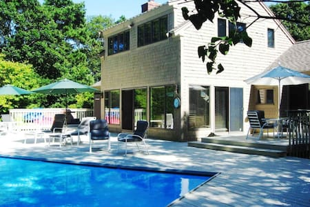 New Seabury-private home-pool/hot tub near beach - Машпи - Дом