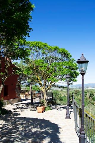 Vista lateral patio