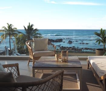 Stunning Beachfront appartement in Tamarin
