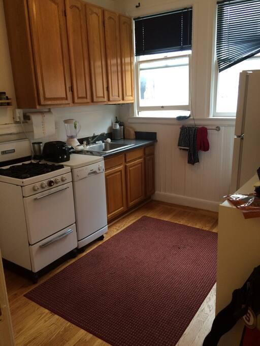 Oven, stove, dishwasher, refrigerator, microwave