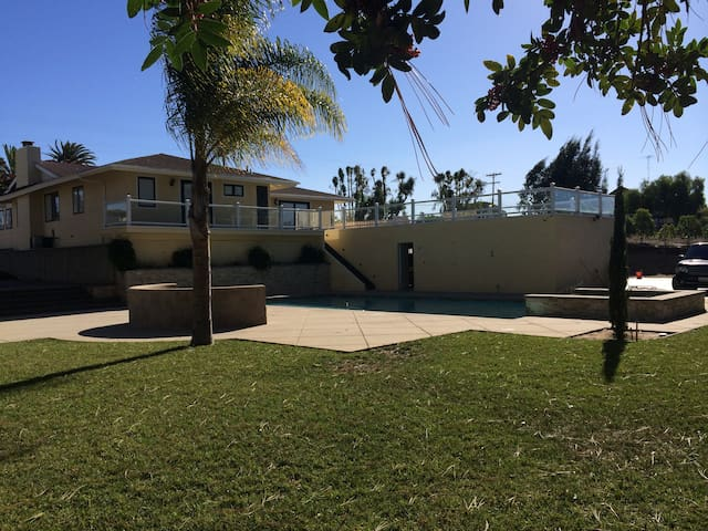 Large Property &  Home with Ocean View