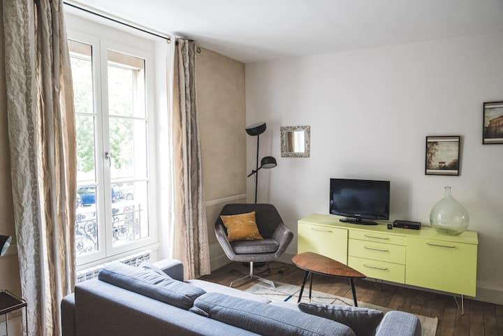 Appartement  caractère centre ville