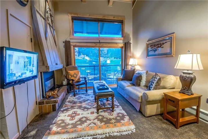 Discounted Steamboat Lift Tickets! Beautifully Remodeled Studio With Loft and Great Location! - Rockies 2337
