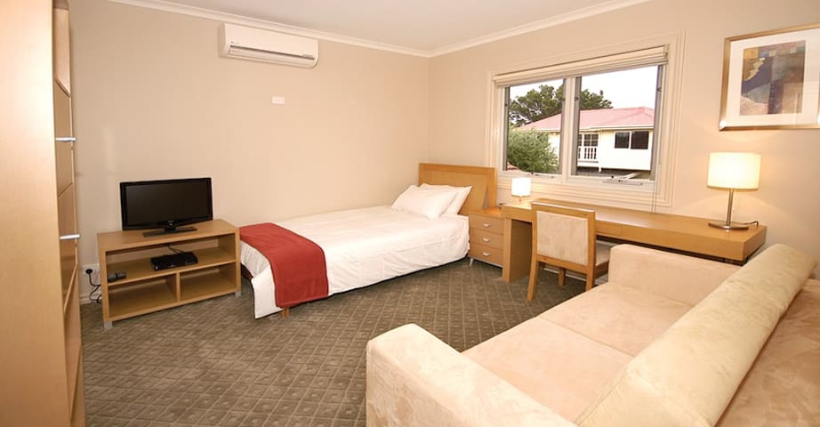 Executive Bedroom in our Brunswick Guest House