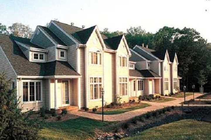 Pocono Mountain Villas At Fairway Vacation Resort. This is Where You Will Be Staying At.