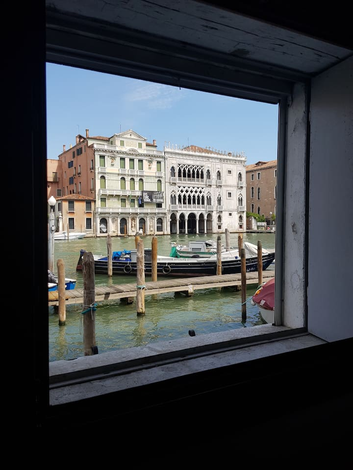 Canaletto Apartment Rialto Gran Canal view