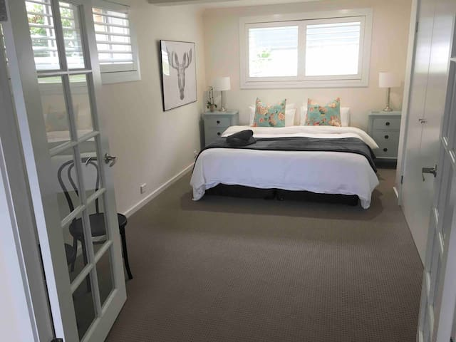 Bedroom 4 - Can be set up as a king or two singles depending on your preference
