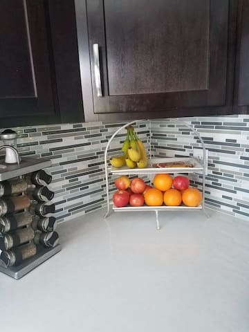 Breakfast items to enjoy. More in cabinets