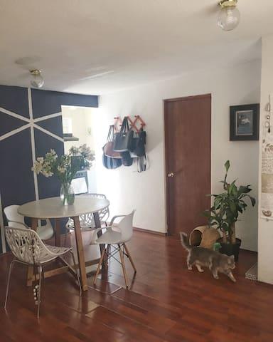Cozy apartment near Condesa . - Cidade do México - Apartamento