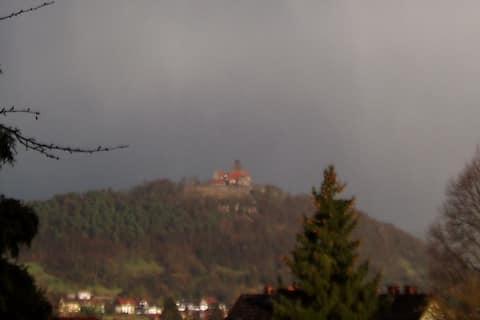 Erholung mit Burgblick im Odenwald  - DZ