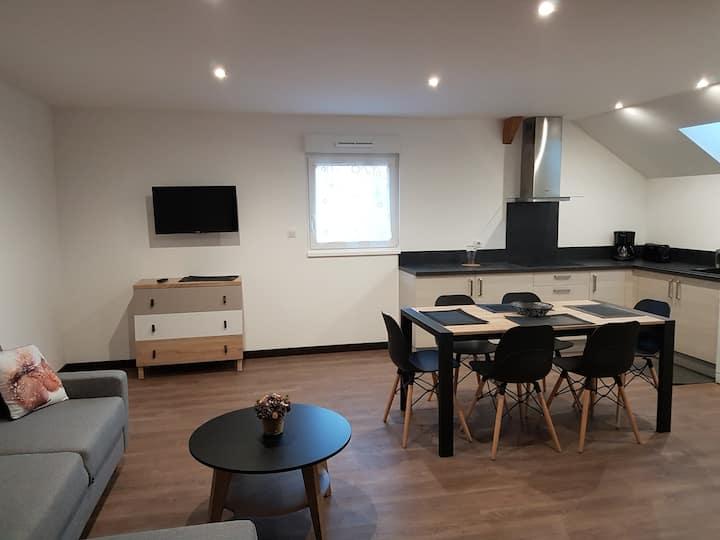 Appartement l'Écureuil NEUF 4* sauna et balnéos