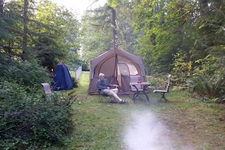 Camping with a Concierge - Fall City