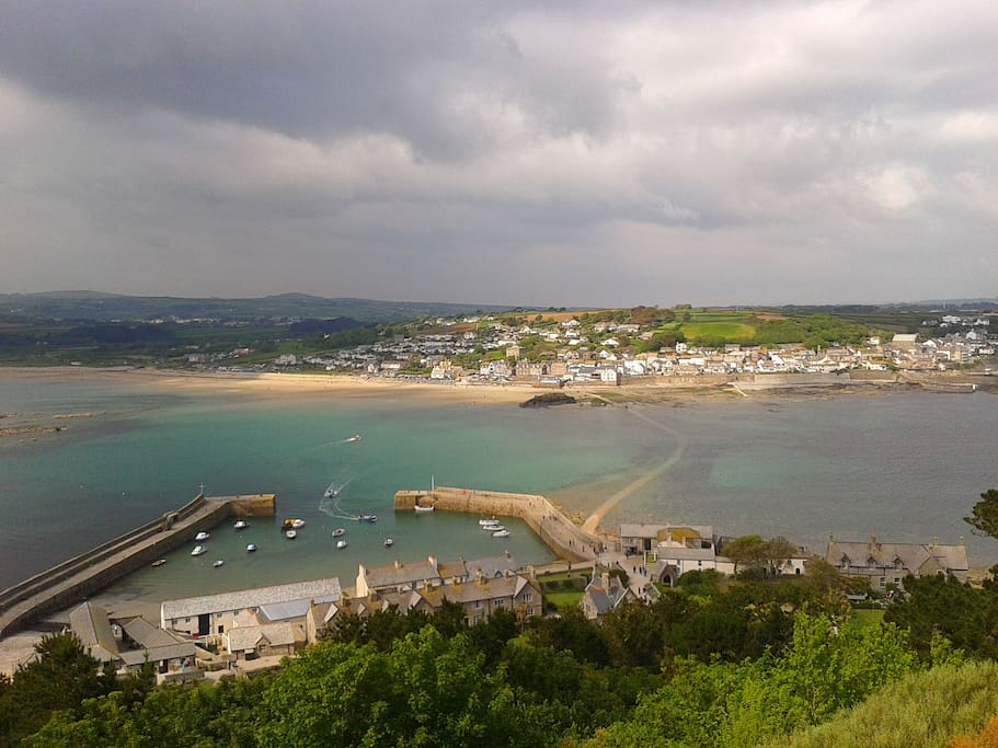 View from St. Micheal's Mount, Marazion.
