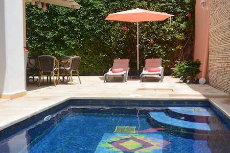Villa Zentral mit privatem Pool,Klimaanlage,Kamin - Agadir - Villa