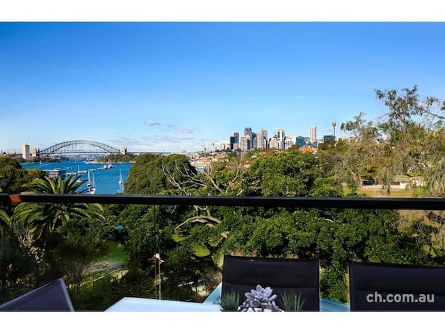 Double room with brilliant Sydney Harbour views - Birchgrove - Talo