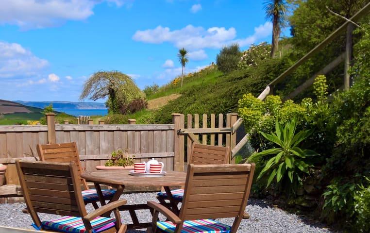 Remote Rose Cottage Hallsands South Devon beach