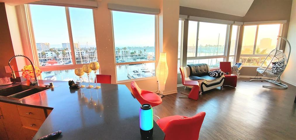 Resort-Style Waterfront Penthouse