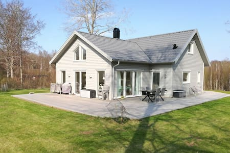 Newly built house with high standards, in Blekinge