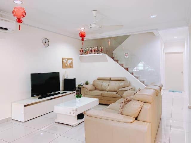 Singa Angsa house 狮鹅坊 R5温馨家庭双卧套房