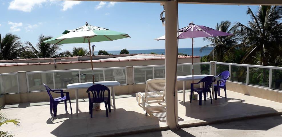 Casa em Santa Cruz, Aracruz; E.S com visão do mar.