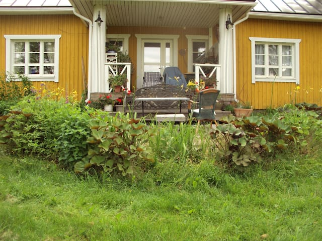 Real country house,15 minits to sport city Lahti. - Asikkala - Haus