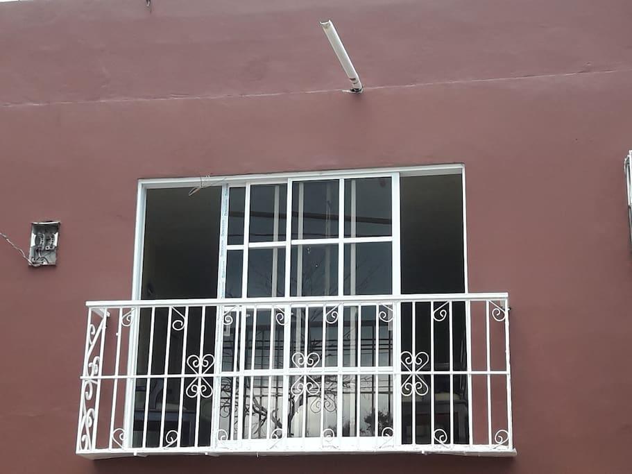 Balcon comun