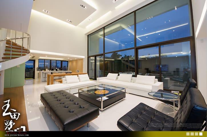 玉田墅 301 樓中樓雙人套房 (歡迎詢問包棟優惠, 還有其他房型可以選歐) - Jiaoxi Township