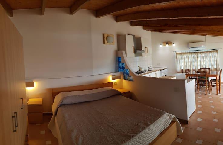 Grazioso Monolocale in Villa ad Ischia