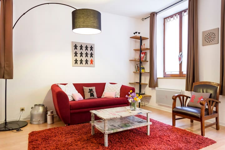 Welcome to Mannala'rt in Colmar! - Colmar - Apartamento