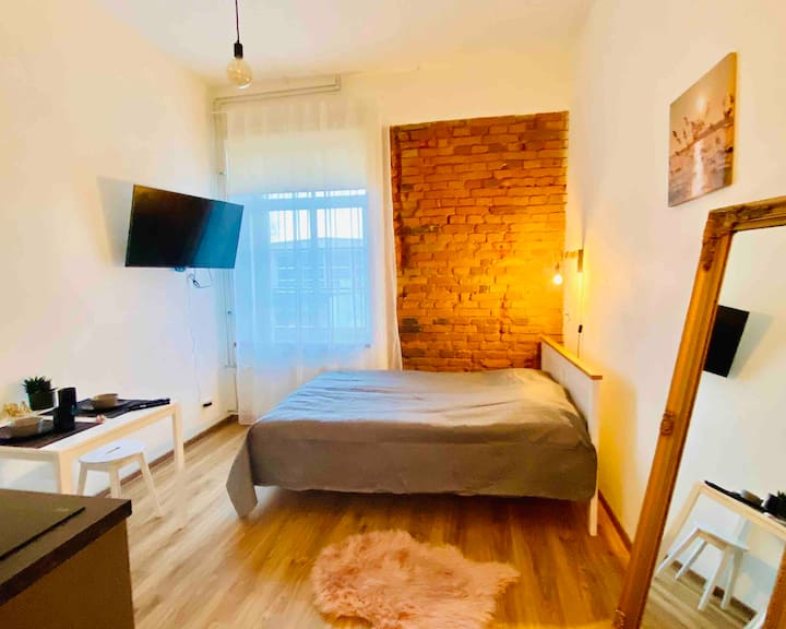 208 A cozy new studio near city center