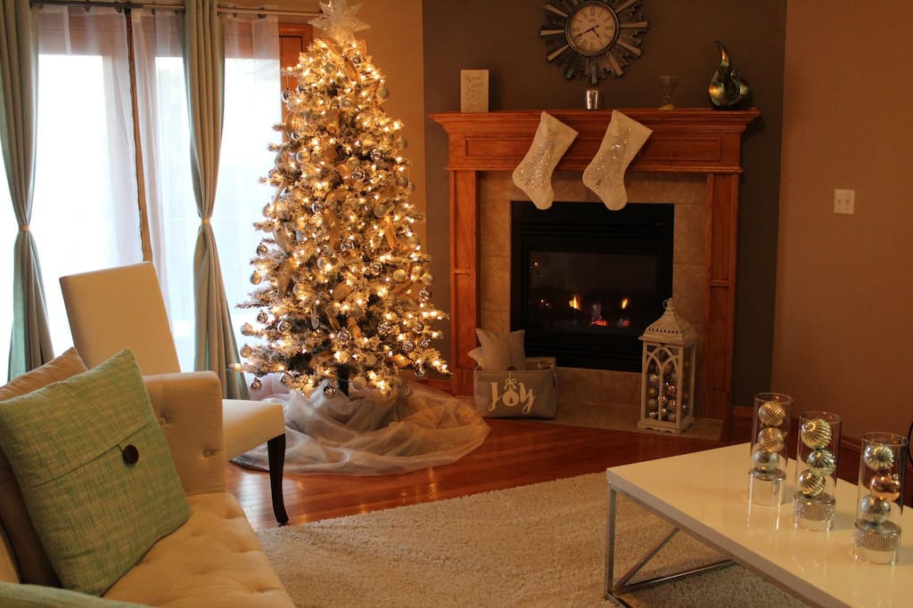 Updated pictures for Christmas holidays  Cozy house for the most wonderful time of the year