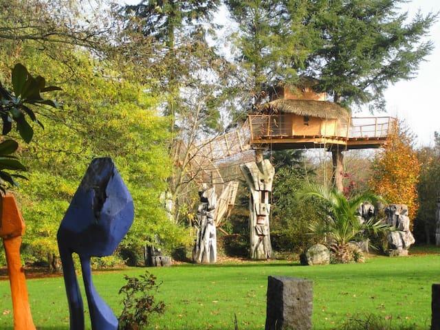 Cabane dans les arbres Ar Maen