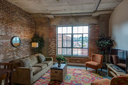 Bluffview Penthouse-Novelty Lofts - Dubuque - 阁楼