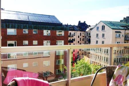 #1 spot: room for 2, SUNNY BALCONY! - Stockholm
