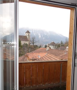 Big apartment with mountain view - Ringgenberg